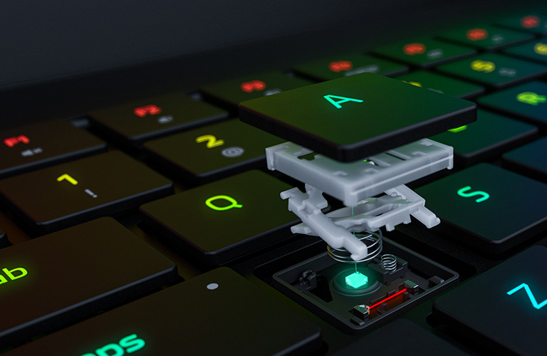 The World's First Optical Laptop Switch<span>Select Razer Blade 15 Advanced Model</span>