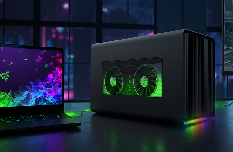 "<span class=""font-16"">Razer Core X</span><br>Get More Graphic Power"